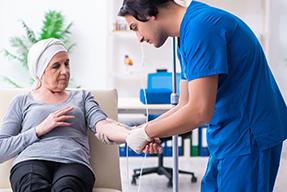 Estudio de la paciente oncológica